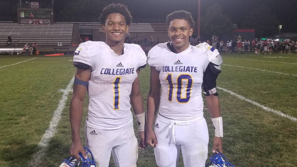 'It makes my heart smile': Fair brothers team up to push Collegiate football to 4-0